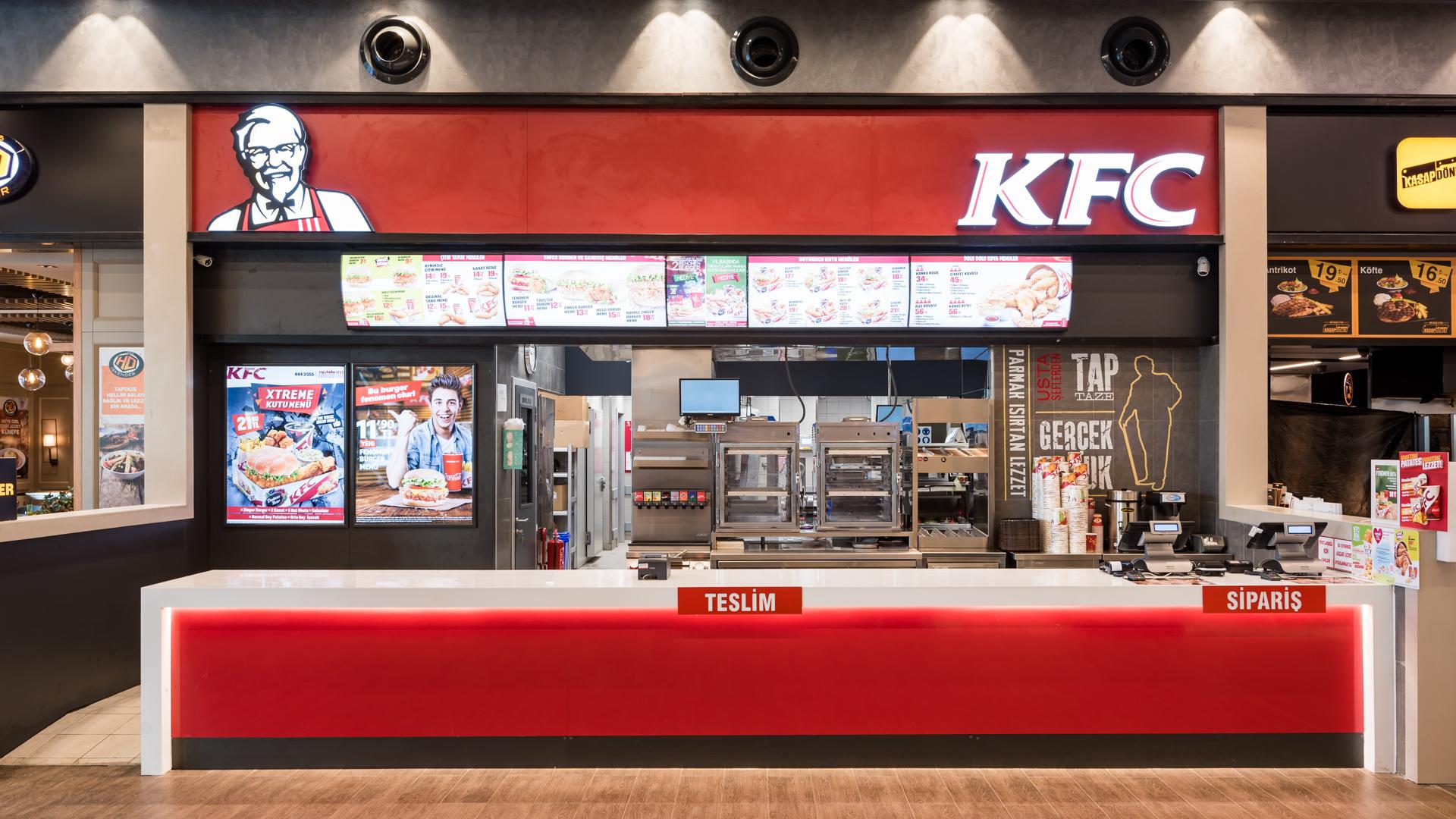 KFC Restoran Fotoğraf Çekimi
